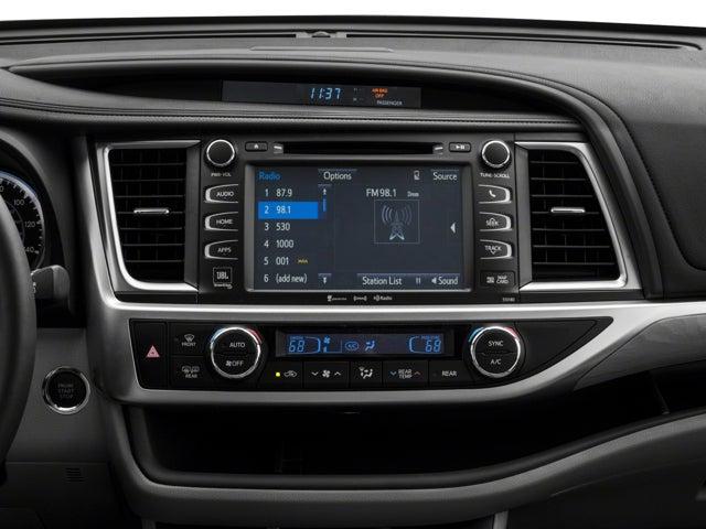2018 Toyota Highlander Limited Toyota Dealer In Wv New