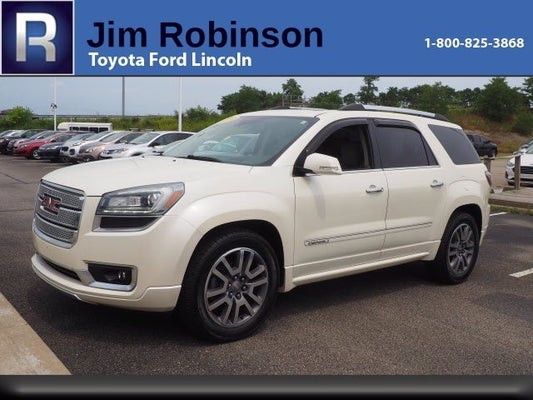 2014 Gmc Acadia Awd 4dr Denali Toyota Dealer In Wv New And